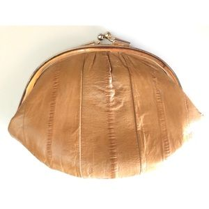 UNBRANDED BUTTERY SOFT EEL SKIN COIN PURSE WALLET